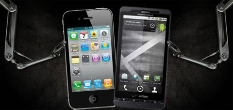 iPhone vs Droid X