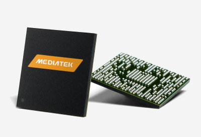 Рендер чипа от MediaTek