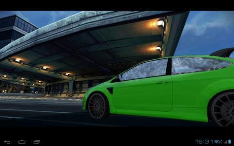 Need For Speed запущенная на Sanei N10 Quad Core